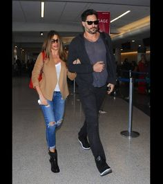 Sofia Vergara and Joe Manganiello are street chic!