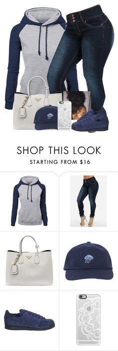 """""""Power"""" by danimack03 ❤ liked on Polyvore featuring Prada, adidas, Casetify, women's clothing, women's fashion, women, female, woman, misses and juniors"""