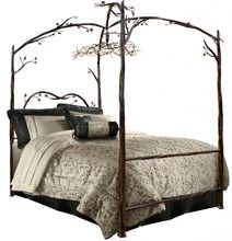 Forest Canopy Bed | Stone County Ironworks