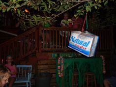 Redneck Pinata = Beer case (empty), add stuff to inside. We had pretzels, fishing bobbers, bouncy balls, gummy body parts and all types of miscellaneous candy. Used an old straw broom as the bat! Redneck Birthday, Redneck Party, Bbq Party, Xmas Party, Halloween Party, Redneck Gifts, White Trash Wedding, White Trash Party, Trailer Trash Party