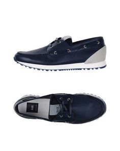 SAX Men's Lace-up shoe Dark blue 6 US