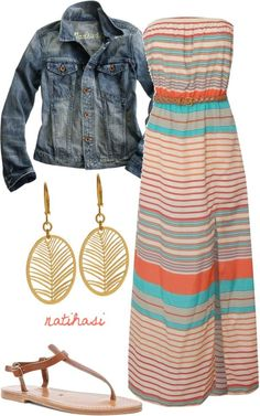 Simple Spring and Summer outfit