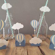 Baby Shower Balloons, Baby Shower Themes, Baby Boy Shower, Baby Shower Decorations, Balloon Birthday Themes, Birthday Decorations, Iftar, Hot Air Balloon, Baby Birthday