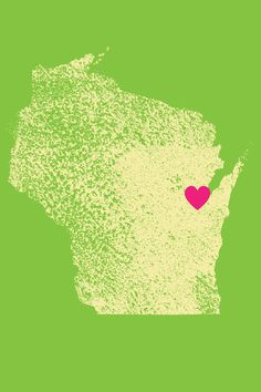 I love Green Bay, Wisconsin :: iPhone background!