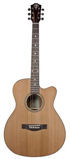 Teton STG105CENT Grand Concert Acoustic-Electric Guitar
