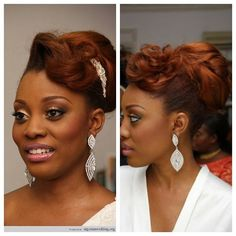African Canadian Wedding Hair Inspiration: 20 Gorgeous Bridal Hairstyles   African Canadian Weddings