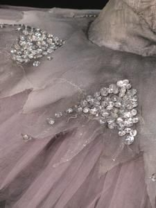Tutu worn by Fiona Chadwick as The Fairy Winter in Act I scene 2 of The Royal Ballet production of 'Cinderella' (1987).