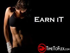 Earn it! #motivation #workout #fitness #health #femalefitness #motivation #abs