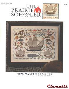Book No.34_New World Sampler_1/4