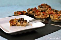 Mushroom Tartlet with Oat Crust (Gluten Free) @Shannon Lim