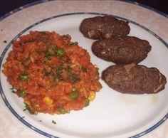 Rezept Cevapcici mit Djuvec Reis von tinkerbell1964 - Rezept der Kategorie Hauptgerichte mit Fleisch