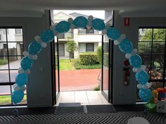 Balloon Art Sydney offers the best Balloon Arches Decorations in Sydney for your events, parties special occasions. Let us beautify your occasion with Balloon arches that go with your theme and make it stand out to your guests. 1st Birthday Balloons, Birthday Balloon Decorations, Balloon Bouquet, Balloon Arch, Balloon Arrangements, Blue Polka Dots, Arches, Baby Pictures, Birthday Celebration