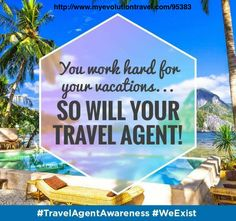 Our goal is to provide a travel experience you will not forget. Let me be your Nr1 Travel Agent.