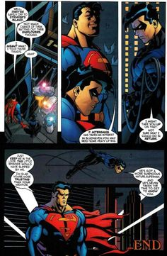 Action Comics #771 - Nightwing and Superman