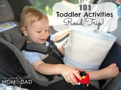 101 Toddler Activities ~ Road Trip! » A Year with Mom & Dad