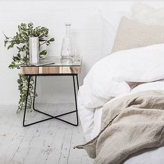 like: side table; Bedside | Harper and Harley