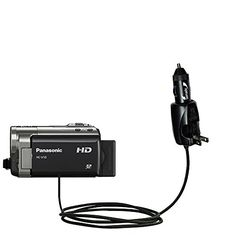 Advanced Gomadic 2 in 1 Auto  Car DC Charger Compatible with Panasonic HCV10 with Foldable Wall AC Charging plug  Amazing design built with TipExchange Technology >>> You can get additional details at the image link.