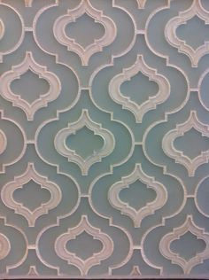 morrocan tiles design but in pressed metal