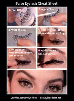 2c89af4fb11 Lashes Applying False Eyelashes, Fake Lashes, False Eyelashes Tips, Flase  Eyelashes, Eyelashes