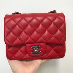 Chanel Mini Flap Red Cross Body Bag. Get the trendiest Cross Body Bag of the season! The Chanel Mini Flap Red Cross Body Bag is a top 10 member favorite on Tradesy. Save on yours before they are sold out!