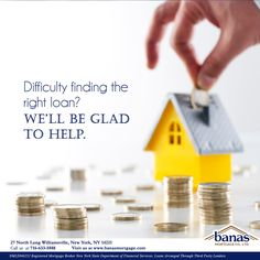 Finding the right loan can make all the difference in your house buying process. With a vast number of options and possibilities, choosing the right option and financing plan for your budget can be a daunting task. At Banas Mortgage Company, this is what we do. We are happy to hear your personal story and help you make assessments and apply for loans that will work with your specific needs! #BanasMortgage