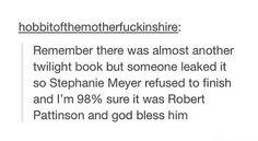 Nobody hates Twilight as much as Robert Pattinson.