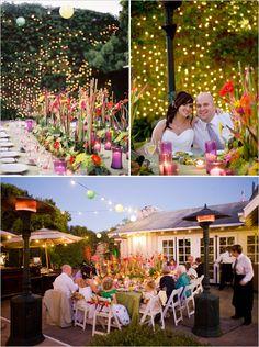 very colorful SB wedding