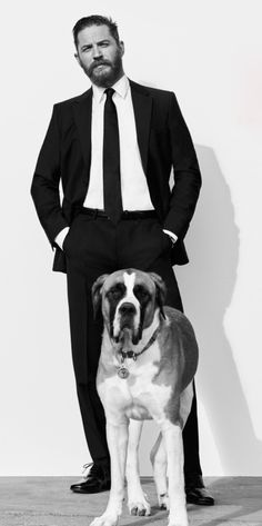 Tom Hardy (and Georgia)   Esquire UK, May 2015   photograph by Greg Williams
