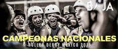 Sabías que en Tijuana y Baja California tenemos equipos de Roller Derby y que el equipo de Baja California es campeón nacional?  Felicidades al equipo de Baja California :)
