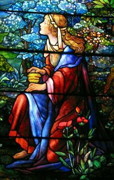 Mary Magdalene #StainedGlassCathedral