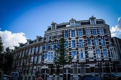 I AMsterdam - Amsterdam, The Netherlands, historic old town.