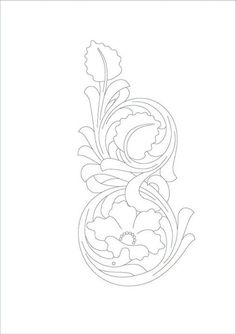 Risultati immagini per drawings patterns for carving in leather Leather Stamps, Leather Art, Leather Design, Leather Tooling, Leather Carving, Craft Patterns, Flower Patterns, Style Patterns, Embroidery Patterns