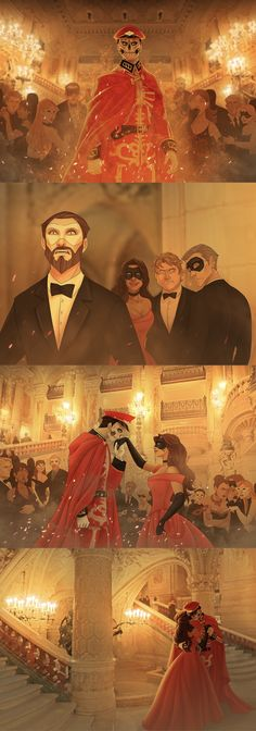 The phantom and his love by JadeiteART Fantom Of The Opera, Character Art, Character Design, Opera Ghost, Music Of The Night, Phantom 3, Fanart, Art Reference, Fantasy Art