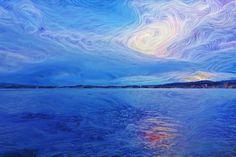 Sonne hinter den Wolken (a) Waves, Outdoor, Clouds, Sun, Outdoors, Outdoor Living, Garden, Wave, Beach Waves
