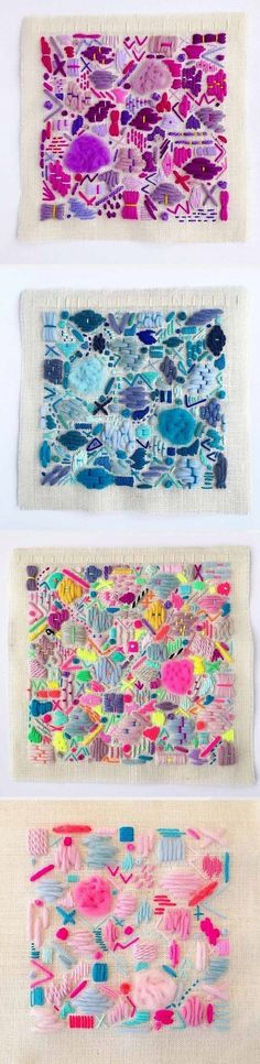 Embroidery by Elizabeth Pawle / On the Blog!