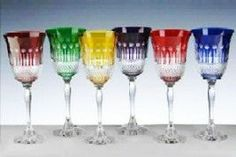 Cristal De Paris Set of 6 Assorted Goblets Hurry up... Browse and shop continentaltablesettings.com
