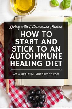 How to Start and Actually Stick to a Healing Autoimmune Diet Many people have found great success in managing autoimmune disease through diet changes - some of which require strict elimination of foods we all know and love. Here's how to actually start to Dieta Anti-inflamatória, Eat Better, Autoimmune Diet, Aip Diet, Hashimotos Disease Diet, Rheumatoid Arthritis Diet, Hypothyroidism, Lemon Benefits, Anti Inflammatory Recipes