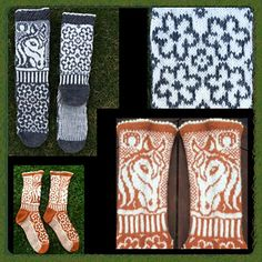 Amazing horse themed socks Ravelry: Irma socks pattern by JennyPenny Knitting Charts, Knitting Socks, Knit Socks, Tapestry Crochet Patterns, Foot Warmers, Knitted Booties, Pattern Library, Mittens, Ravelry