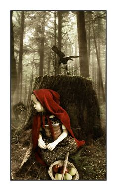 little red riding hood, and friends.