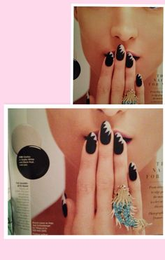 Trendy nail designs and color