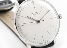 The original Junghans Max Bill design -- make up your mind mr bill. what do you want to do with your life?