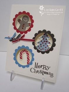 peek a boo card. such a cute idea. would be cute with any inchie stamps.