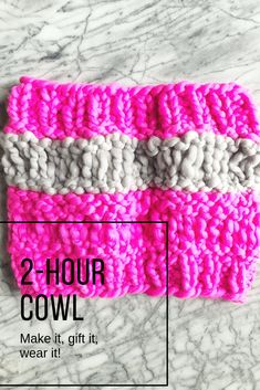Under Cowls This week on Ask Me Monday we talk quick gifts to knit and crochet. I show how to make both knit and crochet Under Cowls. In this episode, you'll learn how stitch height affects. Free Knitting, Cowl, Knit Crochet, Great Gifts, Stitch, Pattern, How To Wear, Accessories, Full Stop