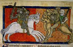 Fighting beasts--3. Apocalypse France 1220-70.  Bib de Toulouse