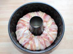 Csirkés burgonyakoszorú recept lépés 9 foto