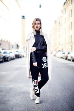 7 simple ways to rock the sporty look athletic fashion wear Fashion Wear, Sport Fashion, Girl Fashion, Womens Fashion, Cheap Fashion, Fashion Boots, Fashion Clothes, Fashion Trends, Over The Top