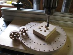 Wooden Models #166: Mag Wheel Making Jig - by htl @ LumberJocks.com ~ woodworking community Wooden Toy Wheels, Wooden Toy Trucks, Wooden Plane, Wooden Wheel, Woodworking Patterns, Woodworking Techniques, Woodworking Projects, Diy Wood Projects, Wood Crafts