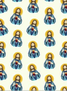 Religious Images, Blessed Virgin Mary, Catholic Art, Classical Art, Jesus Loves Me, New Years Eve Party, Cute Wallpapers, Saints, Design