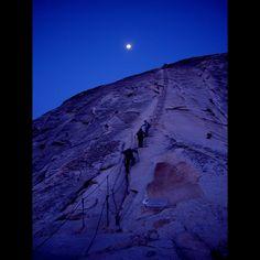Half Dome Cables - Yosemite
