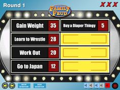A list of the best free Family Feud PowerPoint templates for teachers. Create a fun game of Family Feud for your students. Family Feud Online, Family Feud Game, Family Game Night, Family Games, Family Feud For Kids, Powerpoint Game Templates, Powerpoint Template Free, Family Feud Template, Virtual Families